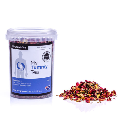 My Tummy Tea 60 Grams (30 Serve) - OrganiTea Australia