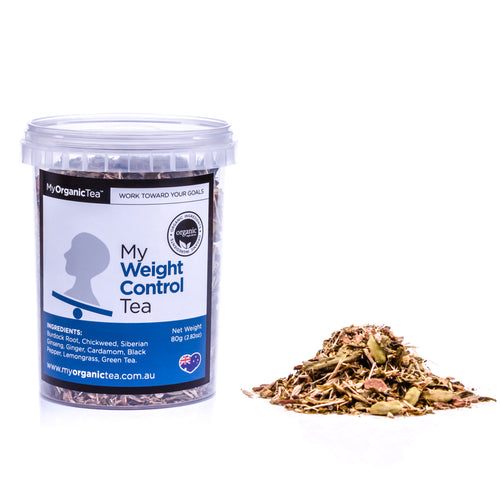 My Weight Control Tea 60 Grams (30 Serves) - OrganiTea Australia
