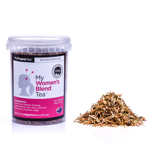 My Women's Blend Tea 60 Grams (30 Serves) - OrganiTea Australia