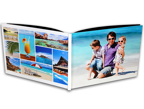 "8x11"" Canvas Cover Photo Book"