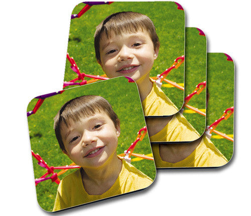 Glossy Coaster Set of 4 95mm Square