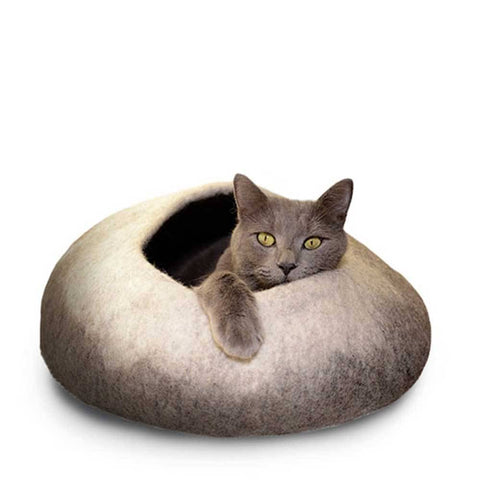 Dharma Dog Karma Cat Natural Ombre Cat Cave | UnitedPetWorld.Com