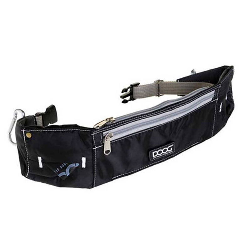 Doog Walkie Belt Hands Free Running With Dogs Black | Unitedpetworld.Com