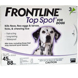 Frontline Top Spot Flea and Tick Control For Dogs | UnitedPetWorld.Com
