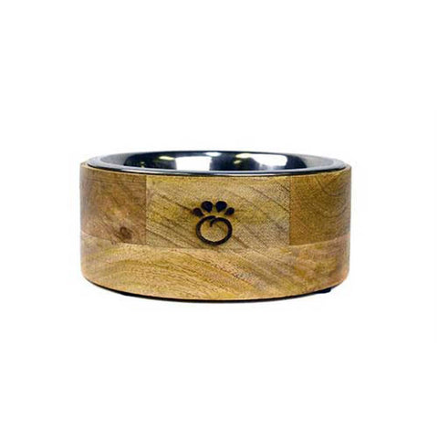 GF Pet Wood Bowl For Dogs | UnitedPetWorld.Com
