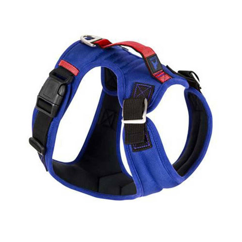 Gooby Pioneer Dog Harness, Blue  | UnitedPetWorld.Com.Sg