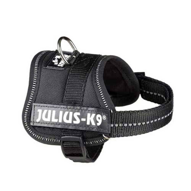 Julius-K9 IDC-Powerharness For Dogs Black | Unitedpetworld.Com