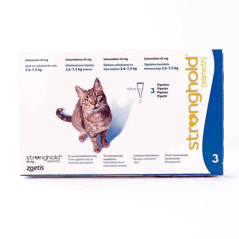 Stronghold Blue (2.6-7.5kg) Cat 3 Pack | Unitedpetworld.Com