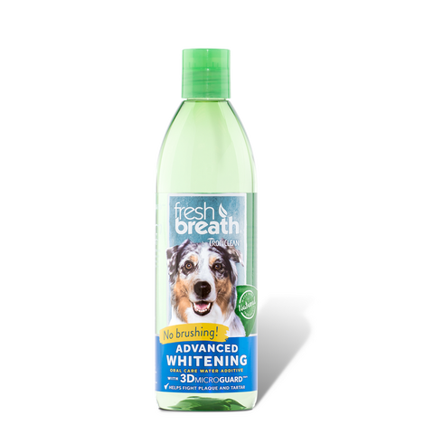 Tropiclean Advanced Whitening Oral Care Water Additive | UnitedPetWorld.Com