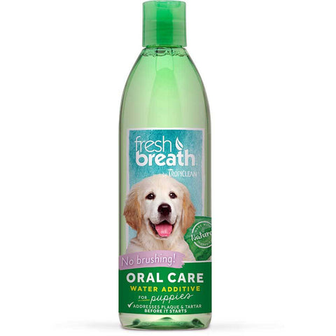 Tropiclean Fresh Breath Puppy Water Additive | UnitedPetWorld.Com