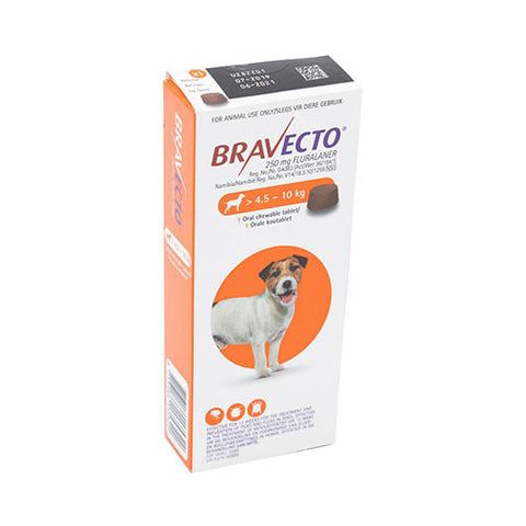 Bravecto Chewable Tablet for Small Dogs 10-22lbs (4.5-10kg) | UnitedPetWorld