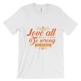 "Graphic T-Shirt , ""Love All"" fair Tee - Dealswelove"