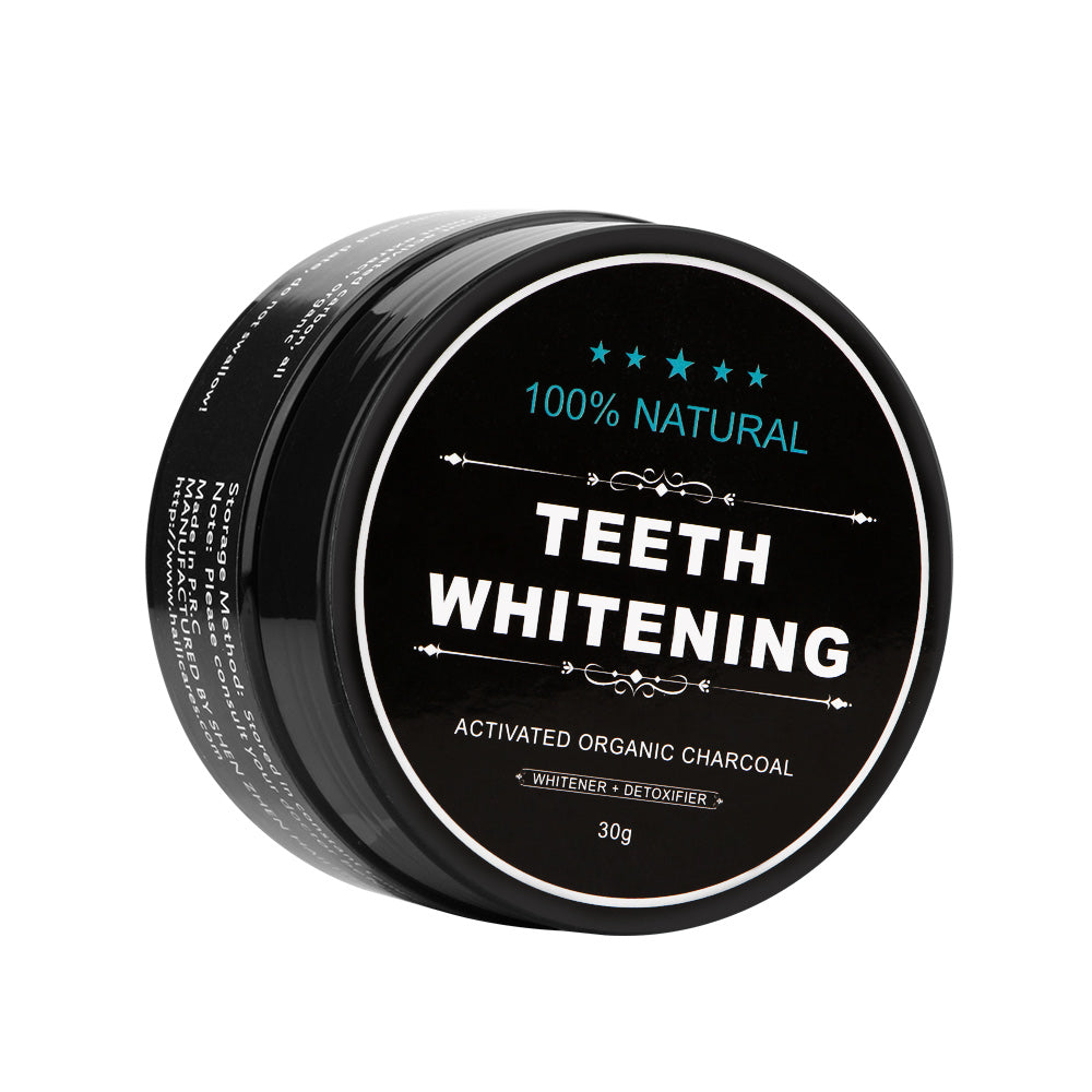 100% Natural Carbon Coco Teeth Whitening Full Kit