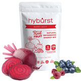 Hyburst Energy Electrolyte Real Fruit Organic Non-GMO drink Berry Beet Multi Serve (20 Servings)