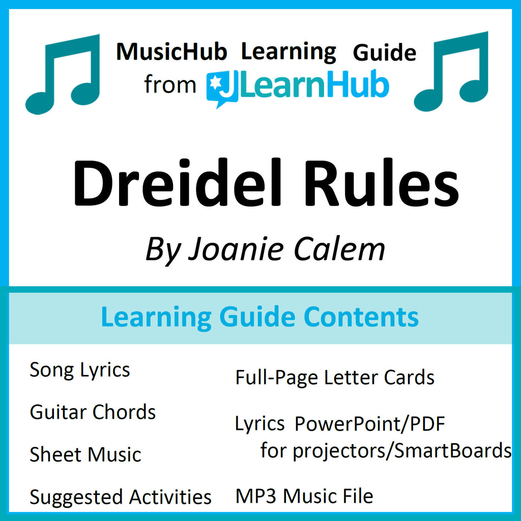 picture relating to Dreidel Game Rules Printable titled MusicHub Mastering Direct: Dreidel Suggestions Track