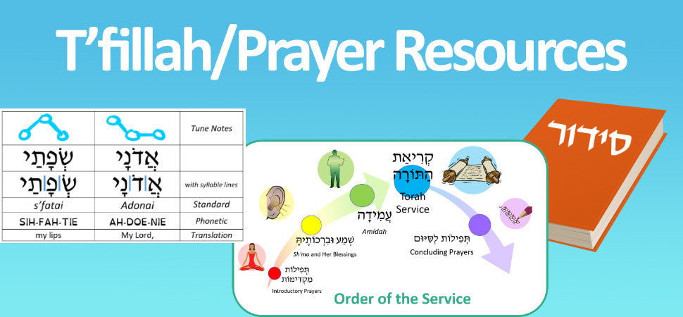 T'fillah/Prayer Resources on JLearnHub