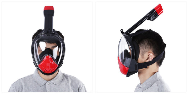 Snorkeling Warrior Mask - Version 2.0