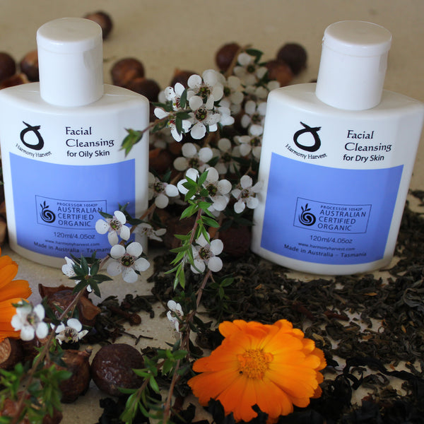 Organic Facial Cleansing for Oily Skin