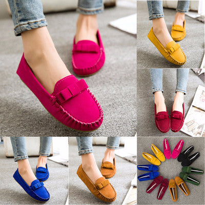 Cool Classic Ribbon Loafer Driving Casual Shoes