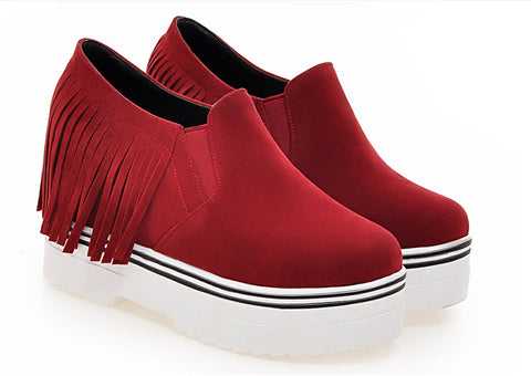 Cool Stylish Fringe Tassel Casual Shoes