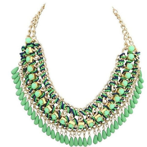 Womens Exotic Fashion Necklace