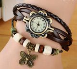 Retro Vintage Butterfly Bracelet Watch