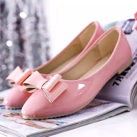 Lovely Ribbon Simple Stylish Flats