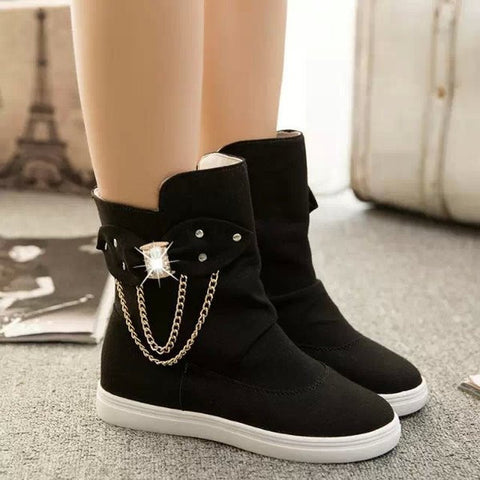 Womens Urban Casual Sneaker Boots