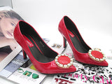 Womens Charming Jewel High Heels