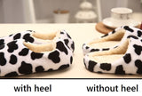 Womens Playful Animal Print House Slippers