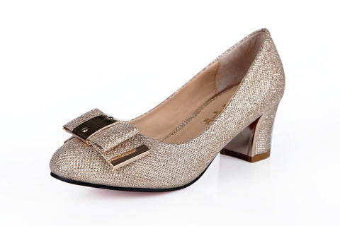 Womens Glamorous Sparkly Heels