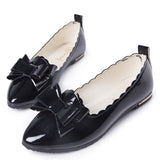 Womens Fashionable Bow Ribbon Flats