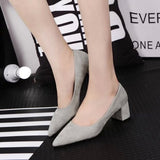 Womens Fashionable Office Work Heels