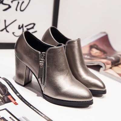 Womens Lovely Heel Casual Boots
