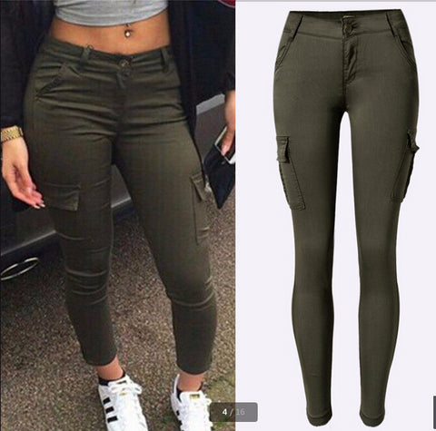 Trendy Cargo Stylish Skinny Pants