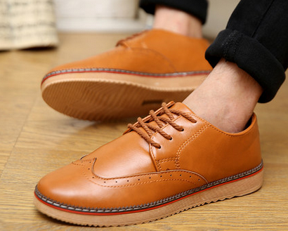 Mens Urban Oxford Casual Boots