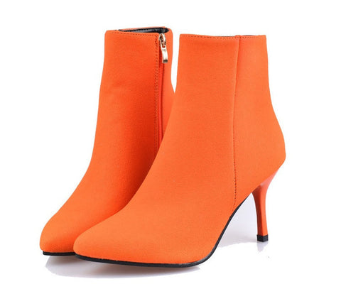 Womens Trendy Booties Boots