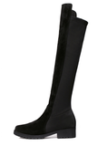 Womens Glamorous Black Knee High Boots