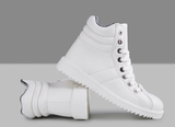 Mens Cool Trendy High-Top Casual Sneakers