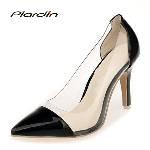 Womens 2018 High Heels Shallow Sexy Elegant Splicing Party Wedding Pumps