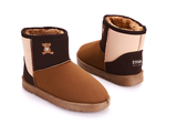 Womens Cute Teddy Bear Multi-Color Winter Boots