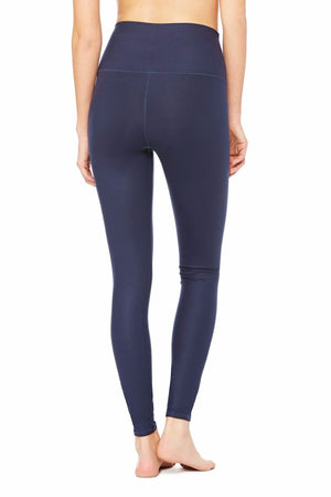 SEA YOGI High Waist Airbrush legging in Rich Navy by Alo, Yoga Shop in Palma de Mallorca, back