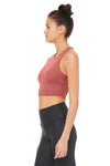 ALO YOGA // MOVEMENT BRA - ROSEWOOD