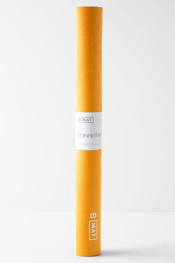 B YOGA // B MAT TRAVELLER -  2mm - SAFFRON