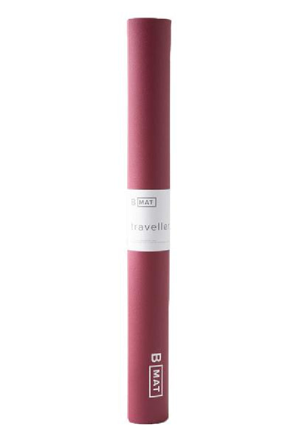 B YOGA // B MAT TRAVELLER -  2mm - EARTH ROSE