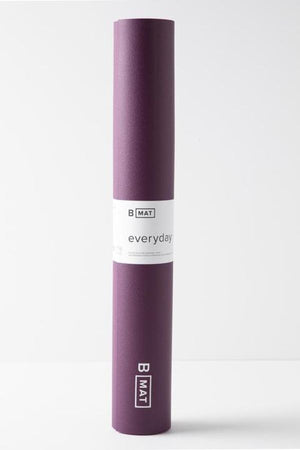 B YOGA // B MAT EVERYDAY -  4mm - DEEP PURPLE