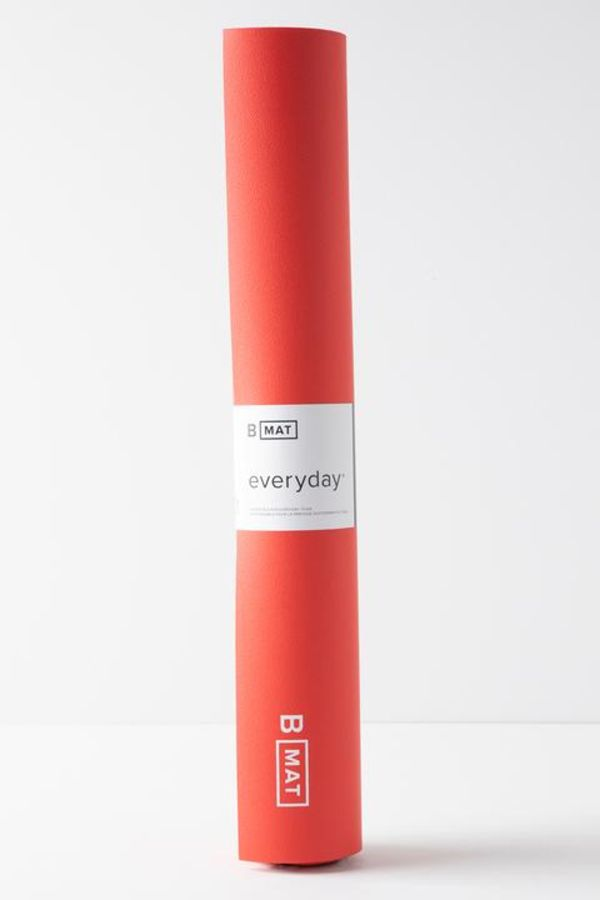 B YOGA // B MAT EVERYDAY -  4mm - SUNRISE RED