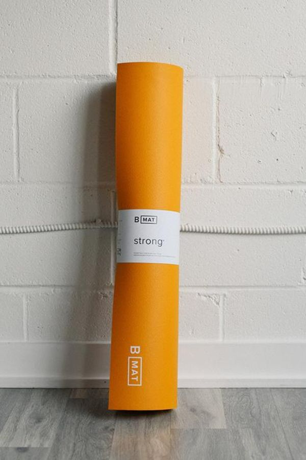 B YOGA // B MAT STRONG -  6mm - SAFFRON