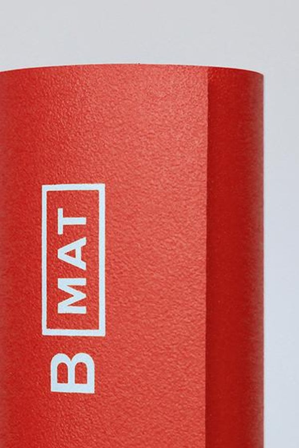 B YOGA // B MAT STRONG -  6mm - SUNRISE RED