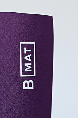 B YOGA // B MAT TRAVELLER -  2mm - DEEP PURPLE